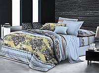 Комплект постельного белья Вилюта сатин Твилл двуспальный Евро 603