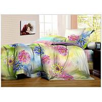 Комплект постельного белья Вилюта сатин Твилл двуспальный Евро 412