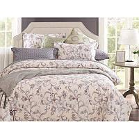 Комплект постельного белья Вилюта сатин люкс Tiare двуспальный Евро 8T