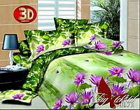 Недорогой комплект постельного белья семейный  пододеяльник (2 шт) 145x215 3D PS-BL73