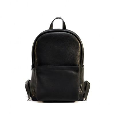 Женский кожаный рюкзак Jizuz Carbon Black 2 черный