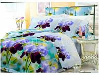 Комплект постельного белья Вилюта Поплин двуспальный Евро 172