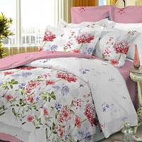 Комплект постельного белья Вилюта Поплин двуспальный Евро 14230