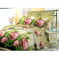 Комплект постельного белья Вилюта Поплин двуспальный Евро 3