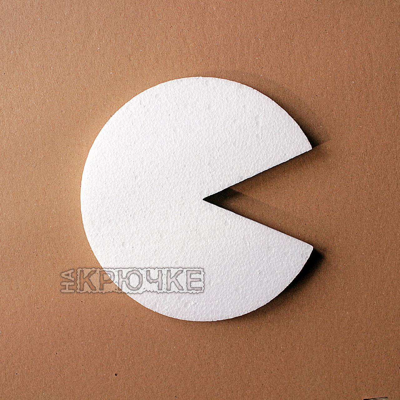 Резная форма для декупажа с персонажами Pacman, 20 см