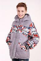 Куртка для мальчика демисезонная Алекс на рост 128 см, цвета в ассорт., фото 1