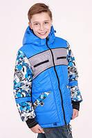 Куртка для мальчика демисезонная Алекс на рост 134 см, цвета в ассорт., фото 1