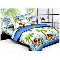 Комплект постелього белья Вилюта ранфорс подростковый Мадагаскар