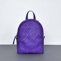 Женский кожаный рюкзак Archer Purple фиолетовый