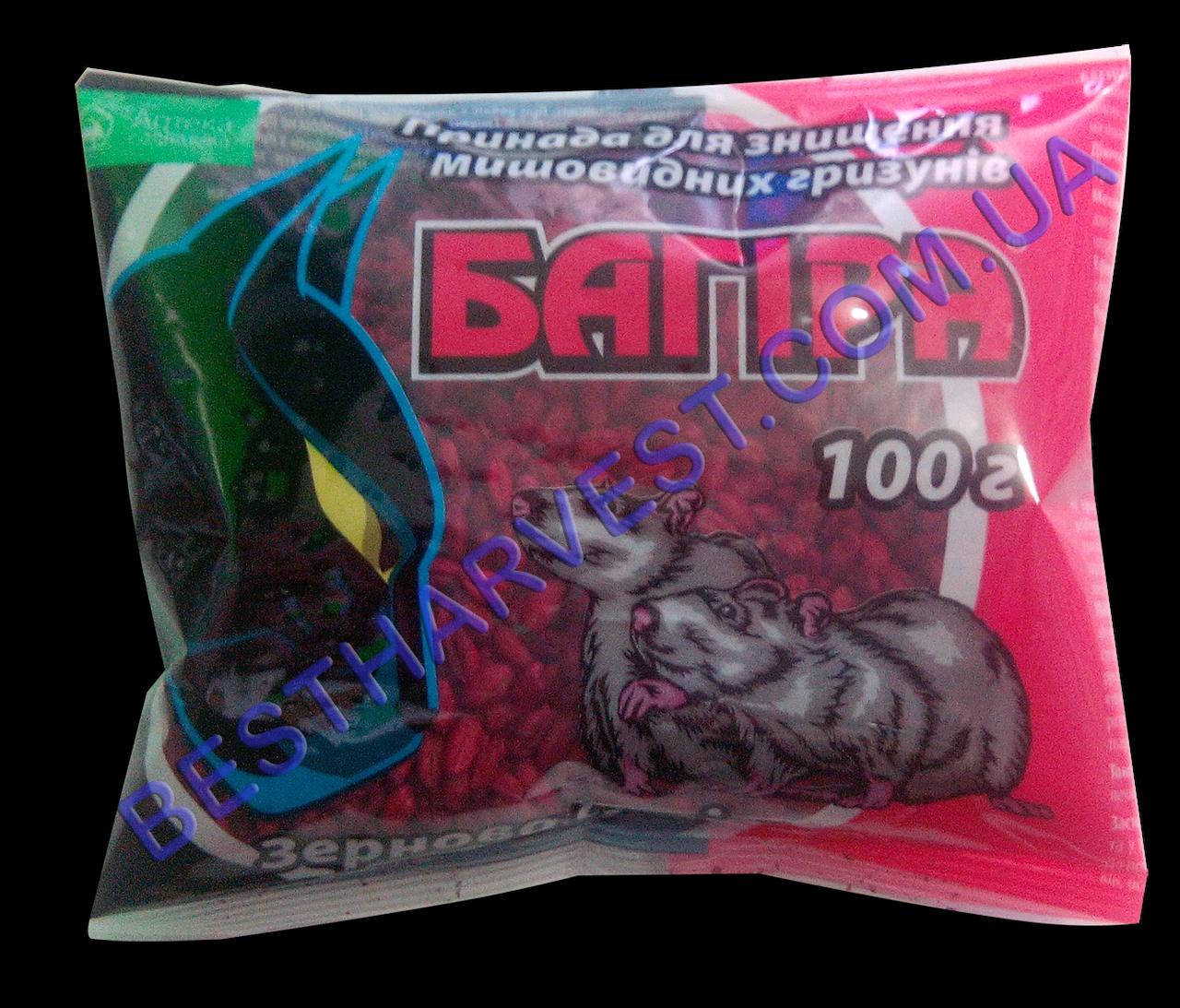 Багира зерно от крыс и мышей 100 г, оригинал