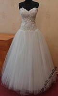 Новое белое свадебное платье для настоящей невесты, размер 42-46