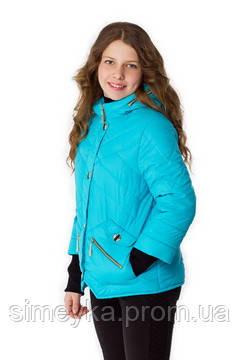 Куртка для девочки демисезонная Верона на рост 146 см, цвета в ассорт.
