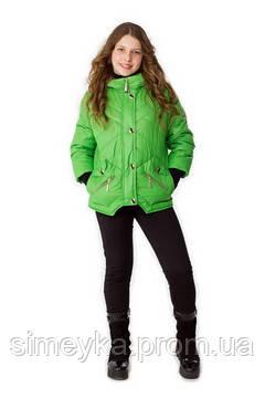 Куртка для девочки демисезонная Верона на рост 158 см, цвета в ассорт.