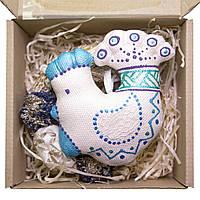 Подарочный набор №02. Петушок изумрудный