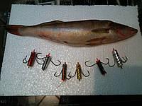 Снасть для ловли судака (Яйца - убийца судака) киллер 15 г, 30 г,  50г