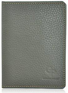Обложка для паспорта Grande Pelle коричневая