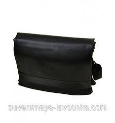 Сумка Чоловіче Для документів позов-шкіра dr.Bond 5139-4 black, компактна сумка, сумка в машину