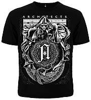 """Рок футболка  Architects """"Cosmic Reaper"""", фото 1"""