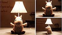 """Мягкая настольная лампа """"Мумий троль"""""""