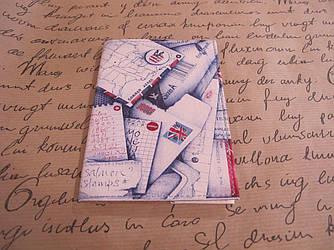 "Обложка на паспорт ""Дипломатический визит"""