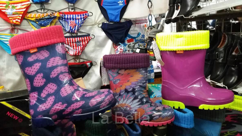 Детские резиновые сапоги Demar (Демар) со съемным носком-утеплителем - La  Bella в d7e7d7620bb03