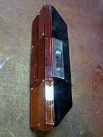 Задний левый фонарь ФП-130. Фонарь КАМАЗ, МАЗ, ГАЗ, КРАЗ задн. лев. 24В ФП130 с подсветкой номера ГОСТ6964-72