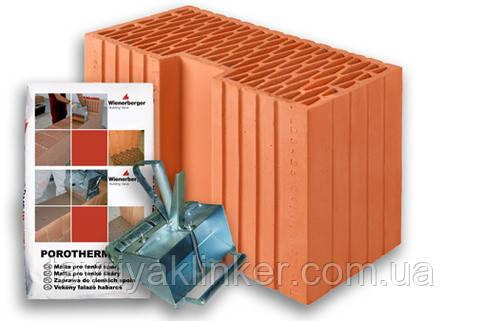 """Керамический блок """"Porotherm 44 R Profi"""""""