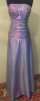 Нежно-фиолетовое вечернее платье, макси, р. 42-46