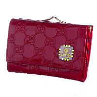 Кошелек женский кожаный Gucci 0102-4 красный