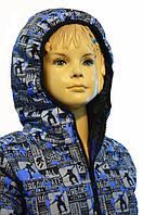 Курточка подростковая демисезонная (Размеры: 122, 128, 134, 140 см)