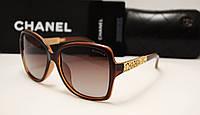 Женские солнцезащитные очки Chanel 1662  коричневый цвет