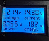 Вимірювач потужності та електроенергії PZEM-021 ваттметер