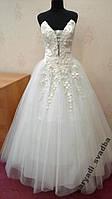 Новое свадебное платье для настоящей невесты, ivory, размер 44-48