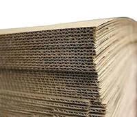 Гофрокартон трехслойный (КГ4) - 120 см × 220 см