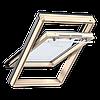 Мансардное окно Velux Optima линия стандарт 78*118 см , ручка сверху + оклад