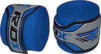 Бинты боксерские RDX 4.5m синие