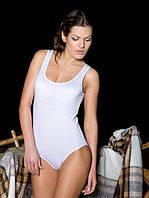 Женское боди ББ 060 бикини. Белый и черный