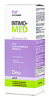 Гель для интимной гигиены Elfa Pharm  Intimo+med Deo рН 3,5 - 200 мл.