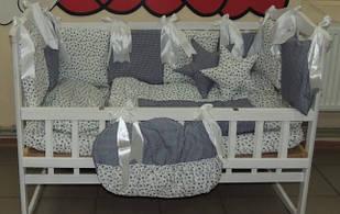 Комплект детского постельного белья в кроватку Якорь Bonna Elite