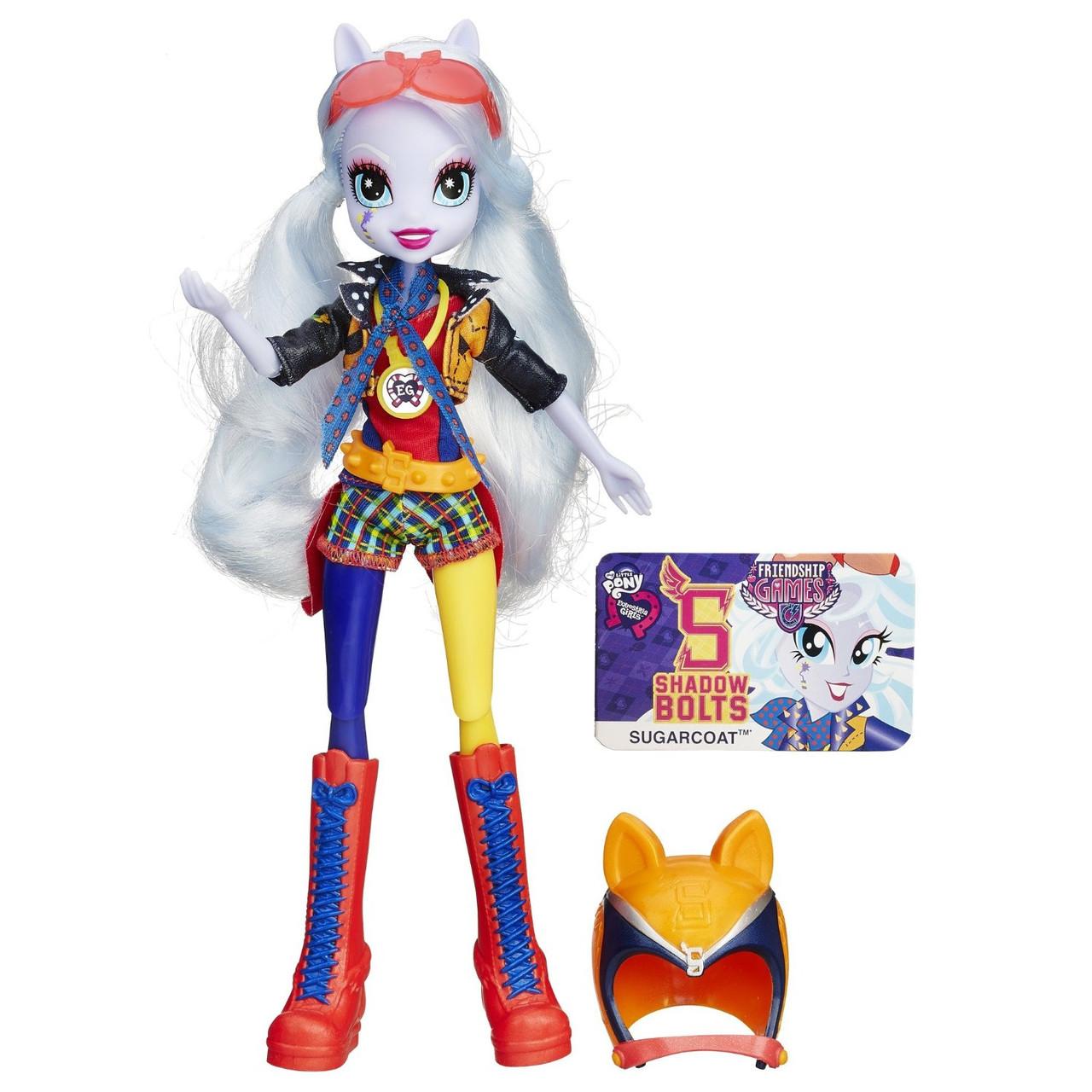 Кукла Шугаркоат Май Литл Пони спортивный стиль для мотокросса из серии Игры Дружбы