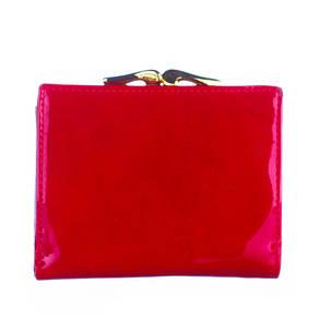 Кошелек маленький женский кожаный Bobi Diqi красный, фото 2