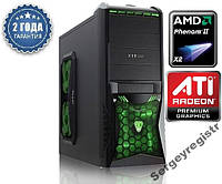 Персональный компьютер Phenom II 3.4GHz / 8Gb_DDR3 / HDD_500Gb / ASUS_M5A / Radeon_HD3000