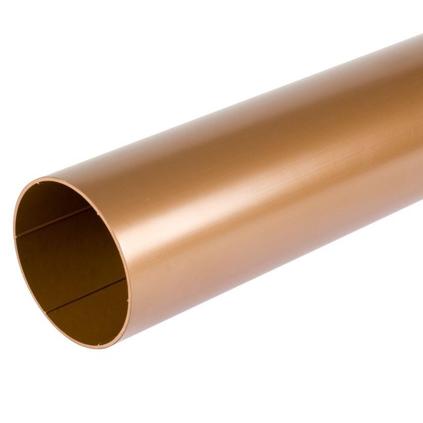 Труба водосточная медная De Mazzonetto Италия 127/80 мм
