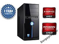 Персональный компьютер игровой AMD A4-7300 (4,0GHz) / DDR3_4Gb / HDD_500Gb / Radeon HD8470 2Gb