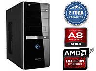 Персональный компьютер 4 ЯДРА AMD A8-7600 (3,8GHz) / DDR3_4Gb / HDD_320Gb / RADEON R7 250 2Gb