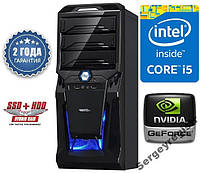 Персональный компьютер BEST NEW! Core i5 (3.6GHz) / 16Gb_DDR3_1600 / HDD_1000Gb / 500W / GTX1050Ti_4Gb_DDR5