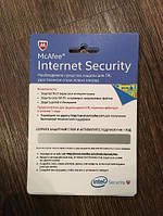 Антивирус McAfee Internet Security (на 1 год 1ПК)
