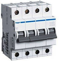 Автоматический выключатель нагрузки Hager MC450A Iн = 50 А 4п характеристика С