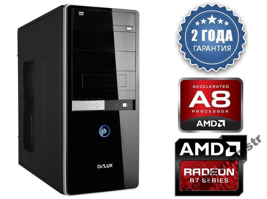 Персональный компьютер AMD A8-7600 3,8GHz / ОЗУ_8Gb / HDD ...