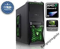 Персональный компьютер МОЩНЫЙ AMD Phenom II / 8Gb_DDR3 / ASUS_M5A / HDD_500Gb / GeForce_730GT_4Gb
